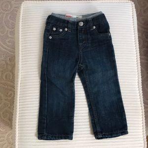NWOT 18 month 514 straight leg Levi jeans